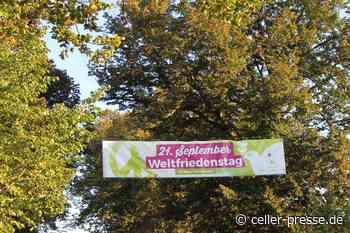Weltfriedenstag am 21.09.21 in Bergen - Celler Presse