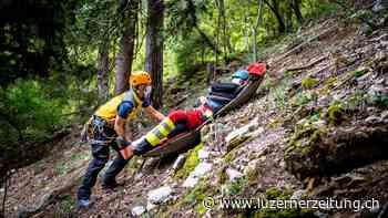 Zentralschweiz: Erneut viele Wanderunfälle in den Bergen - Luzerner Zeitung