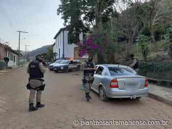 Polícia Militar de Santa Maria de Itabira e Passabém realiza Operação Blitz de Trânsito em estrada de acesso à Providência - Plantão Santamariense