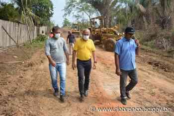 Prefeitura revitaliza ruas da Vila Santa Maria reutilizando asfalto que iriam virar entulho - Prefeitura de Rio Branco
