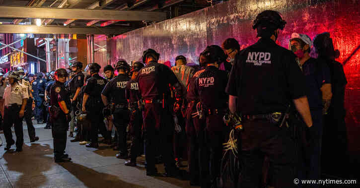 How the N.Y.P.D. Is Using Post-9/11 Tools on Everyday New Yorkers