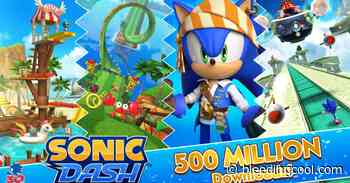 Sonic Dash Surpasses 500 Million Downloads Milestone - Bleeding Cool News