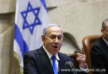Netanyahu appears  to mock Biden for 'falling asleep' during meeting with Israel PM