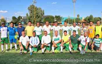 Los fundadores del Santos y el Laguna se reencuentran en un partido amistoso - Noticias del Sol de la Laguna