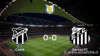 Ceará y Santos FC no encuentran el gol y se reparten los puntos (0-0) - EnCancha.cl