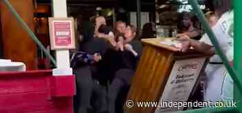 Women involved in New York restaurant brawl over vaccine proof say race was a factor in row