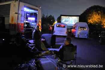 Leide dit weekend omgetoverd tot drive-in cinema - Het Nieuwsblad