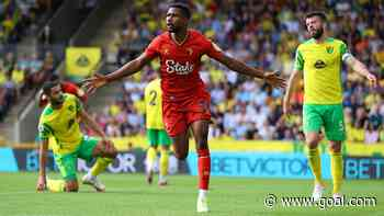 'He could have possibly had two' – Watford's Danny Rose on Emmanuel Dennis' display against Norwich City