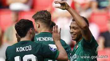 Dessers after Feyenoord win vs PSV: 'My shirt still smells like beer'