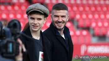 David Beckham's son Romeo makes professional football debut for Inter Miami reserves
