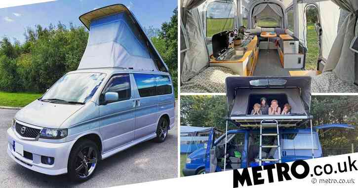 The best camper vans, air mattresses, and trailers for a comfy camping trip