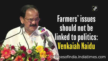 Farmers' issues should not be linked to Politics: Venkaiah Naidu