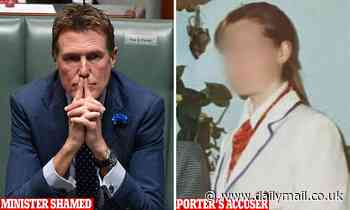 Christian Porter's rape accuser claimed 'symbolic' bruises appeared decades later in 88-page dossier