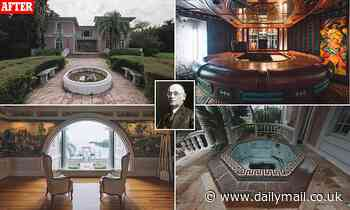 Inside the sprawling five-bedroom seven-bathroom mansion where cereal tycoon W.K. Kellogg lived