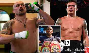 Oleksandr Usyk shows off incredible body transformation ahead of Anthony Joshua fight