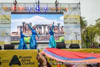 La comunidad armenia participó del Festival de Colectividades de Buenos Aires con danzas y cocina típica - Diario Armenia