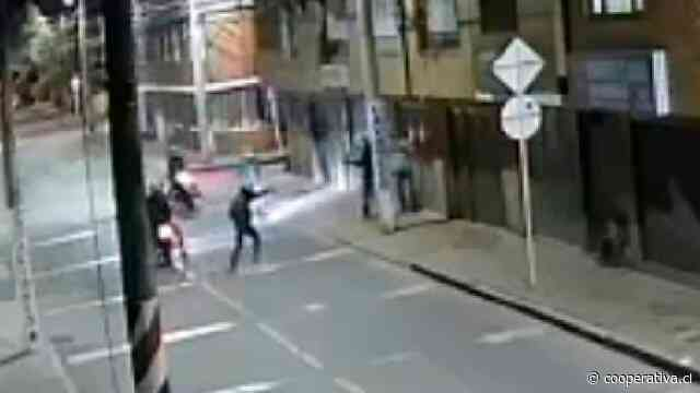Ni los delincuentes se salvan de los asaltos en Bogotá