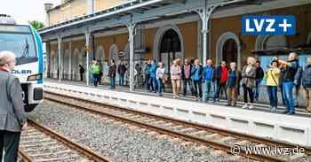 Tour Delitzsch–Grimma–Döbeln: Batteriezug feiert City-Tunnel-Premiere - Leipziger Volkszeitung