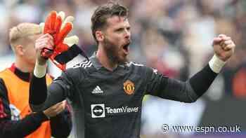 Sources: De Gea still faces GK battle at United