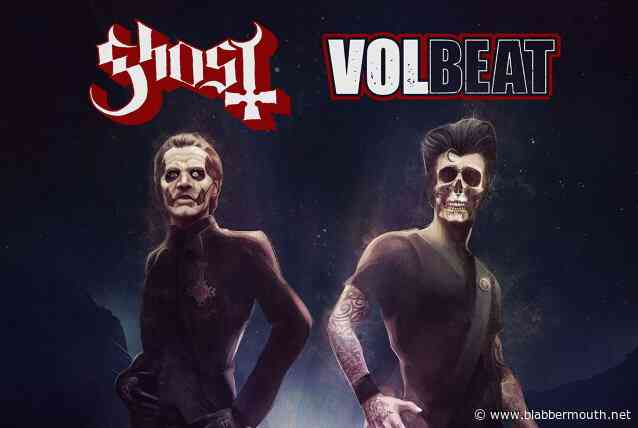 GHOST And VOLBEAT Announce 2022 U.S. Co-Headlining Arena Tour; BLABBERMOUTH.NET Presale