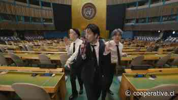 Grupo BTS expuso y bailó en la Asamblea General de la ONU