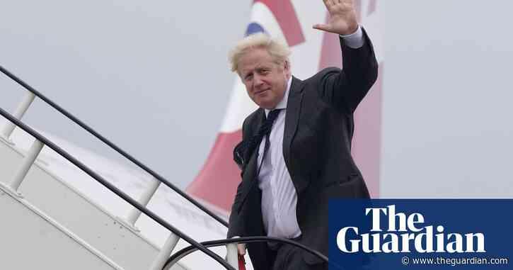 Boris Johnson to address Amazon's tax record with Jeff Bezos on US visit