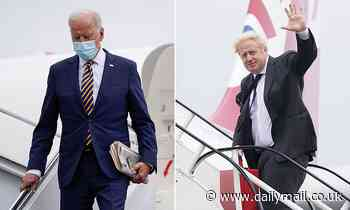 Joe Biden 'to ease US travel restrictions for double-jabbed Brits'