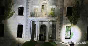 Ghost hunters take photo of old building - and claim they've captured eerie figure