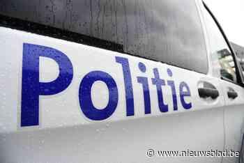 Weg met werkmateriaal in Nieuwerkerken