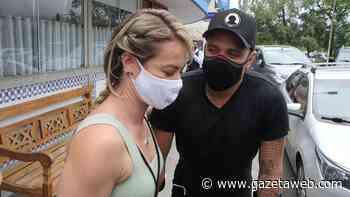 Paola Oliveira e Diogo Nogueira almoçam juntos no Rio de Janeiro - Gazetaweb.com