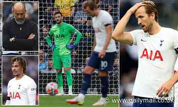 The problems Nuno Espirito Santo must solve after a torrid week for Tottenham