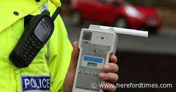 Hereford man banned from roads after drink driving