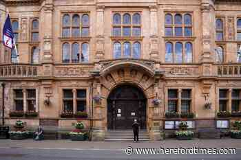 Hereford man died after falling down stairs