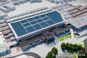 Na twee jaar stilstand wordt er eindelijk weer gewerkt aan station Gent Sint-Pieters