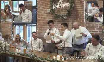 Groom's autistic younger brother leaves 170 wedding guests in tears and stitches
