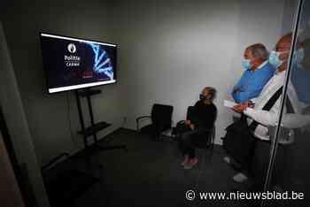 Nieuw politiekantoor van Kinrooi geopend met virtuele loketten voor de burger<BR />