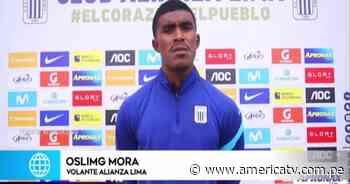 Oslimg Mora: La clave del triunfo de Alianza Lima ante Binacional fue que no nos dimos por vencidos - América Televisión