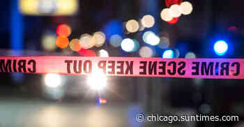 Driver shot in head, crashes car into steel beam, injuring 3 passengers in Chatham - Chicago Sun-Times
