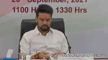 Anurag Thakur chairs meeting with Sports Ministers of states, UTs