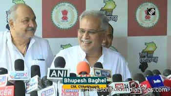 No disturbance in Rajasthan politics: Chhattisgarh CM