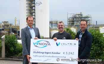 Tessenderlo: Vynova Belgium en Valtris schenken 5.142 euro aan Stichting tegen Kanker (20 september 2021) - Limburgnieuws.be - Limburgnieuws.be