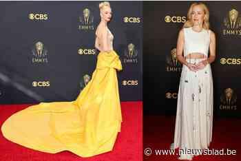 Geel boven: de best geklede sterren op de rode loper van de Emmy's - Het Nieuwsblad