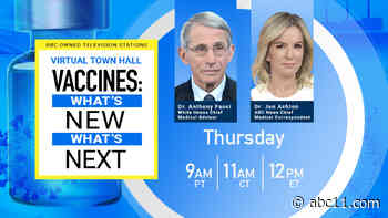 'Vaccines: What's New, What's Next' Town Hall with Dr. Jen Ashton and Dr. Anthony Fauci