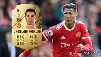 FIFA 22 ratings: Ronaldo, Bruno Fernandes & Man Utd's best players revealed