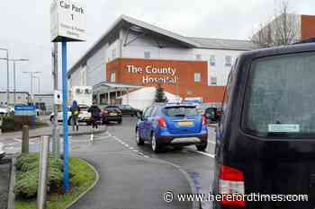 Covid death toll at Herefordshire's hospitals rises again