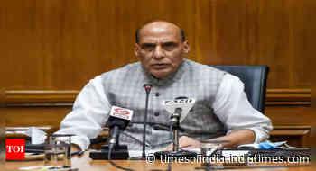 Defence minister Rajnath Singh speaks to US Defence Secretary Lloyd Austin