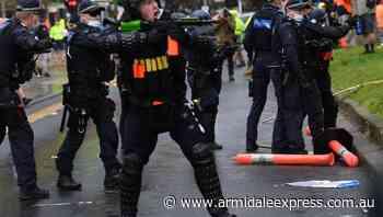 Construction shutdown after Vic protest - Armidale Express
