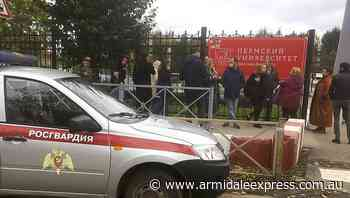 Eight die in shooting at Russian uni - Armidale Express