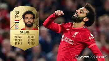 FIFA 22 ratings: Salah, Van Dijk, Mane & Liverpool's best players revealed