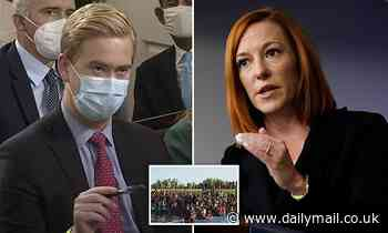 Moment Psaki nemesis Doocy catches her out with question on vaccinating migrants